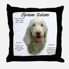 Spinone Italiano Throw Pillow