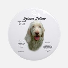 Spinone Italiano Ornament (Round)