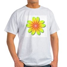Psychedelic Flower Power 70s T-Shirt