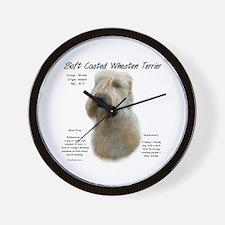 Soft Coated Wheaten Wall Clock