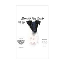 Smooth Fox Terrier Rectangle Decal