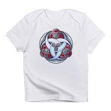 Celtic Triple Crescents - Red Infant T-Shirt