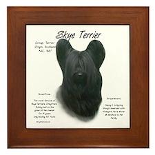 Skye Terrier Framed Tile
