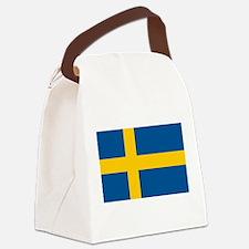 Flag of Sweden Canvas Lunch Bag