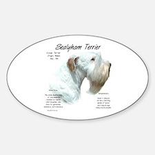 Sealyham Terrier Sticker (Oval)
