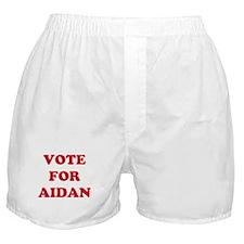 VOTE FOR AIDAN  Boxer Shorts