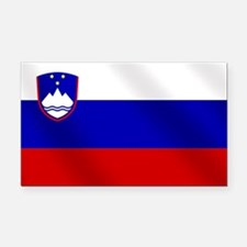 Flag of Slovenia Rectangle Car Magnet