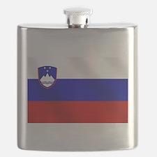 Flag of Slovenia Flask