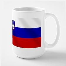 Flag of Slovenia Large Mug
