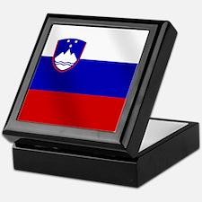Flag of Slovenia Keepsake Box