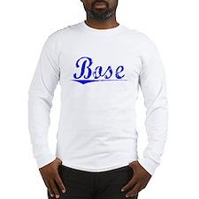 Bose, Blue, Aged Long Sleeve T-Shirt