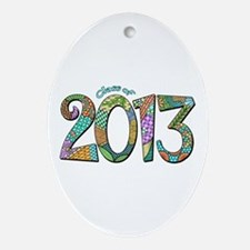 Class of 2013 Ornament (Oval)