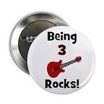 Being 3 Rocks! Button