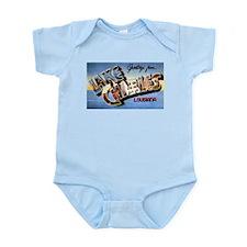 Lake Charles Louisiana Greetings Infant Bodysuit