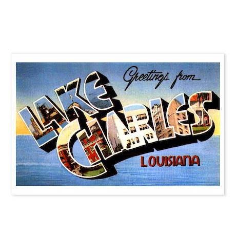 Lake Charles Louisiana Greetings Postcards (Packag