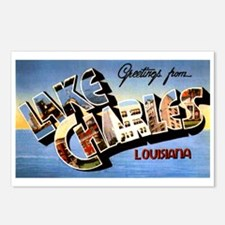 Lake Charles Louisiana Greetings Postcards (Packag