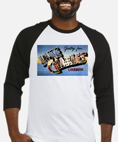 Lake Charles Louisiana Greetings Baseball Jersey
