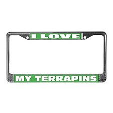 Terrapin License Plate Frame