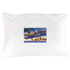 Melbourne Florida Greetings Pillow Case