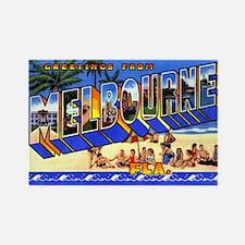 Melbourne Florida Greetings Rectangle Magnet