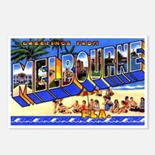 Melbourne Florida Greetings Postcards (Package of