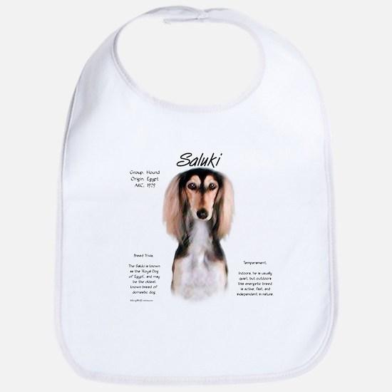 Saluki Cotton Baby Bib