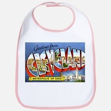 Cleveland Ohio Greetings Bib