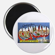 Cleveland Ohio Greetings Magnet