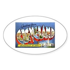 Cleveland Ohio Greetings Bumper Stickers
