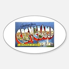 Cleveland Ohio Greetings Decal