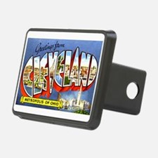 Cleveland Ohio Greetings Hitch Cover