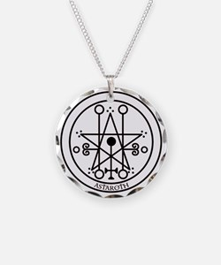 TILE Astaroth Seal - White BG.png Necklace
