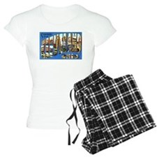 Cleveland Ohio Greetings Pajamas