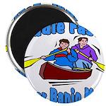 Paddle Faster Canoe Magnet