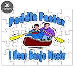 Paddle Faster Canoe Puzzle