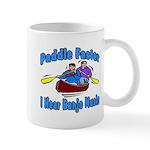 Paddle Faster Canoe Mug