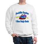Paddle Faster Canoe Sweatshirt