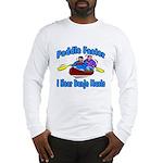 Paddle Faster Canoe Long Sleeve T-Shirt