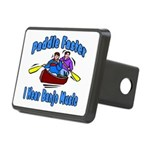 Paddle Faster Canoe Rectangular Hitch Cover