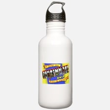 Cincinnati Ohio Greetings Water Bottle