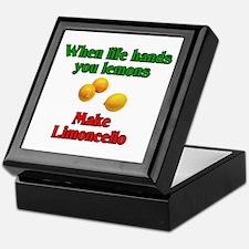 When Life Hands You Lemons Keepsake Box