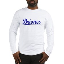 Briones, Blue, Aged Long Sleeve T-Shirt