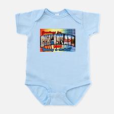 Cincinnati Ohio Greetings Infant Bodysuit