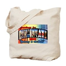 Cincinnati Ohio Greetings Tote Bag