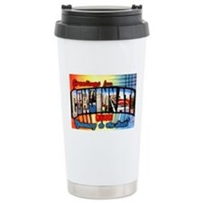Cincinnati Ohio Greetings Travel Mug