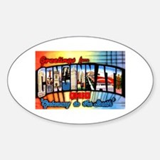 Cincinnati Ohio Greetings Decal