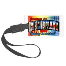 Cincinnati Ohio Greetings Luggage Tag
