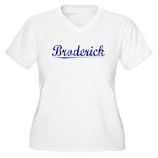 Broderick, Blue, Aged T-Shirt