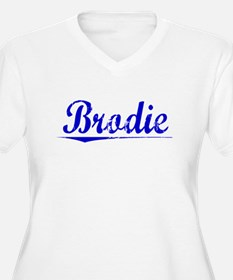 Brodie, Blue, Aged T-Shirt
