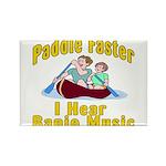 Paddle Faster I hear Banjos Rectangle Magnet (100